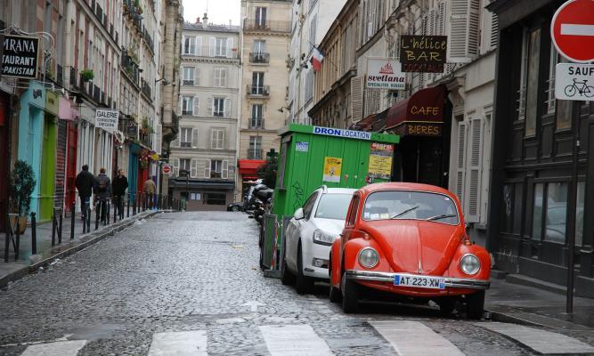 Paris küçəsi