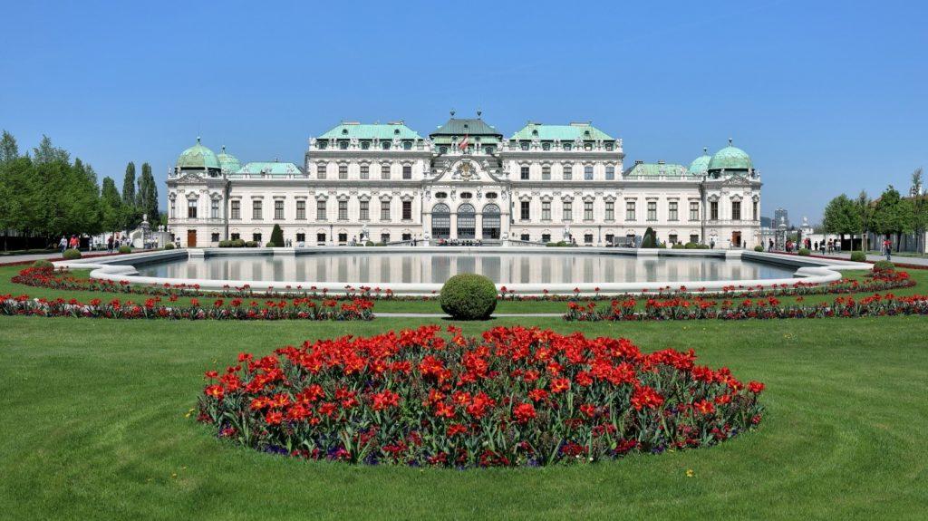 Vyana Belvedere Sarayı